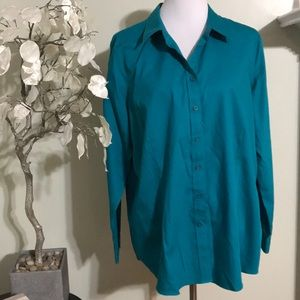 COLDWATER CREEK PLYS SIZE BLOUSE